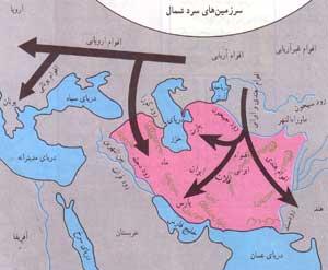 آریایی ها,شعبه های ایرانی آنها