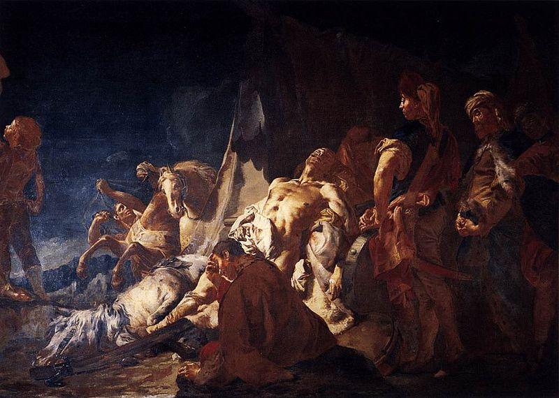مرگ داریوش دوم