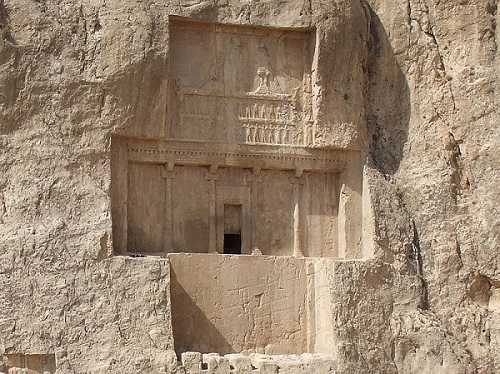 مرگ و مقبره داریوش کبیر