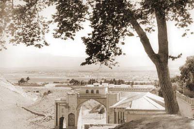 عکس ها قدیمی دروازه قرآن شیراز