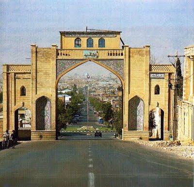 دروازه قرآن شیراز در گذر زمان