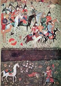 نبرد جلال الدین خوارزمشاهی با چنگیز خان مغول