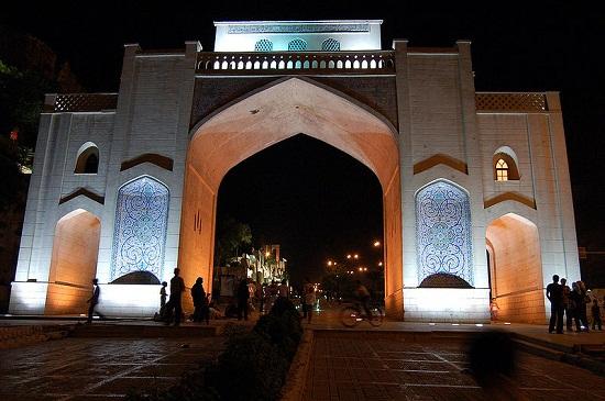 دروازه قرآن شیراز+تصاویر قدیمی