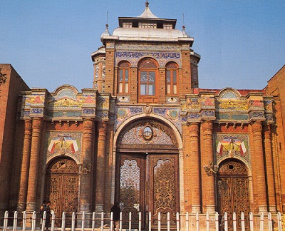 دروازه باغ ملی تهران