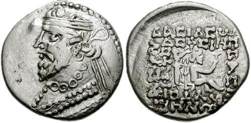 سکه های اشکانی