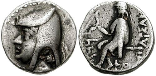 سکه های اشکانیان