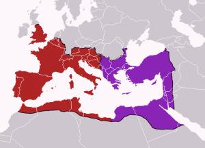 تقسیم شدن روم در زمان بهرام چهارم