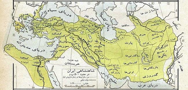 نقشههای ایران در سلسلههای گوناگون