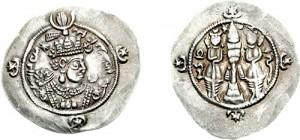 سکه های ساسانی-اردشیر سوم