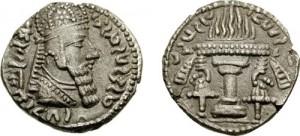 سکه های ساسانی-اردشیر یکم