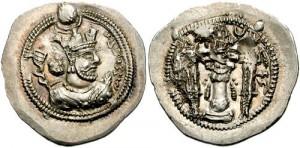 سکه های ساسانی-بلاش