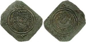 سکه های ساسانی-شهر براز