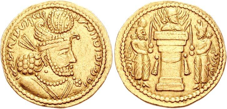 سکه های ساسانی