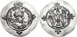 سکه های ساسانی-قباد دوم