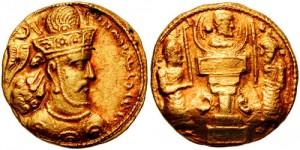سکه های ساسانی-شاپور سوم