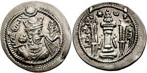 سکه های ساسانی-جاماسپ