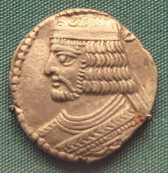 سکه های اشکانیان-سکه بلاش یکم
