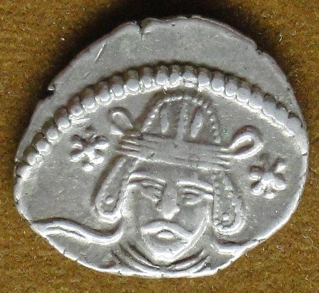 سکه های اشکانیان-سکه نقره ونن دوم