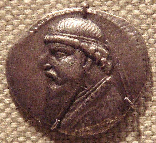 سکه های اشکانی-سکه مهرداد دوم