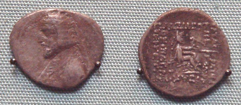سکه های اشکانی-سکه گودرز یکم
