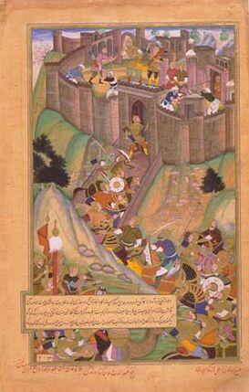 فتح قلعه الموت به دست مغولان