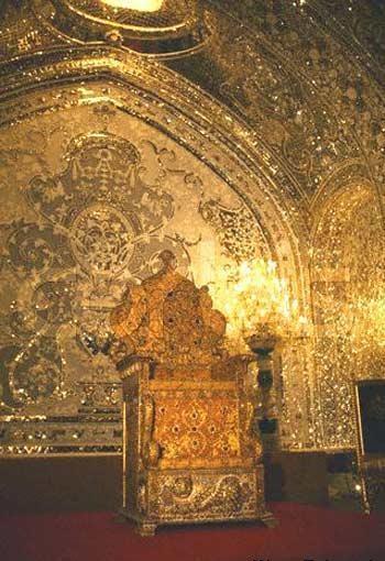 جواهرات سلطنتی ایران-تخت نادری