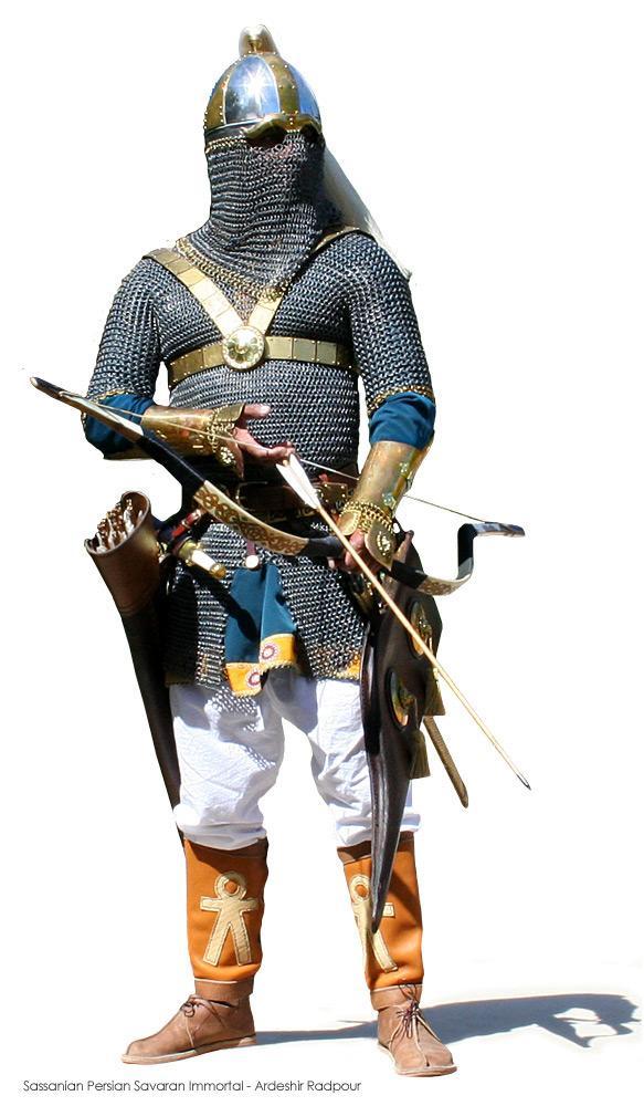 سربازان ساسانی