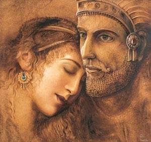 عشق در شاهنامه