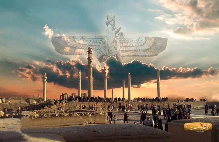 مقایسه بین تمدن ایران باستان - مصر باستان - بابل و یونان