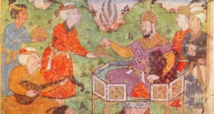 Barbad_playing_for_Khosrau_II